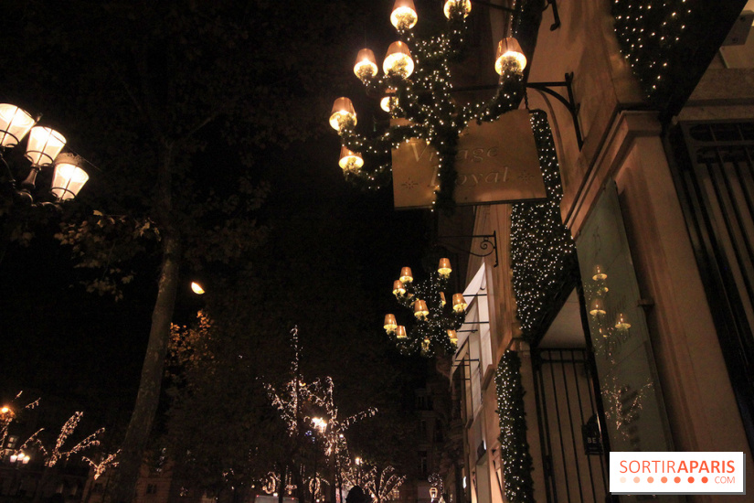 Illuminations de no l 2017 de la rue du faubourg st honor - Illumination noel paris 2017 ...