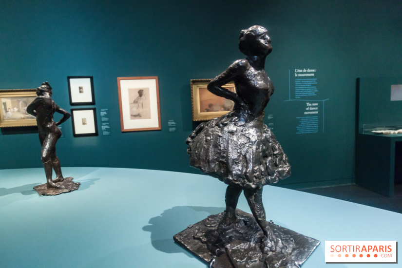 degas danse dessin les photos de l 39 exposition au mus e d. Black Bedroom Furniture Sets. Home Design Ideas