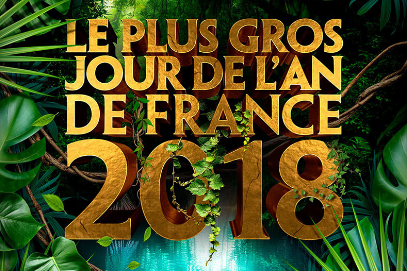 LE PLUS GROS JOUR DE L'AN DE FRANCE 2018 (Jungle, Palmiers, Cascades)