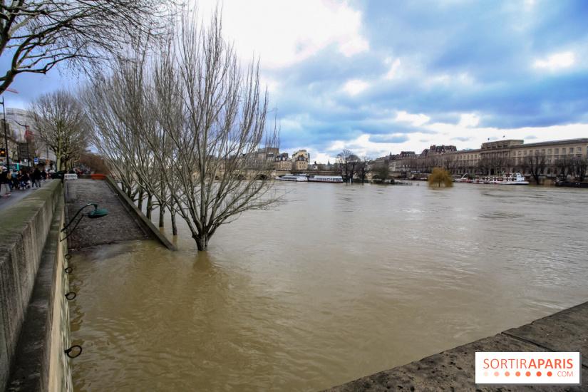 Crue de la Seine, lundi 22 janvier 2018