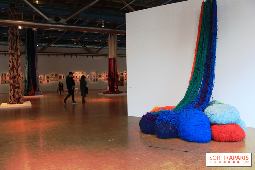 Sheila Hicks, Atterissage au Centre Pompidou : les photos de l'exposition