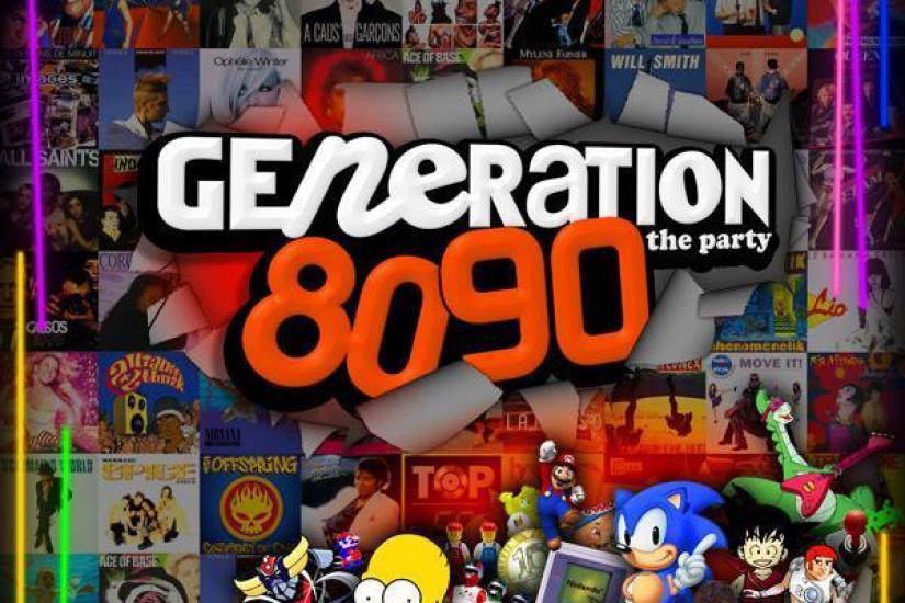 GENERATION 80-90 retourne le CULTURE HALL