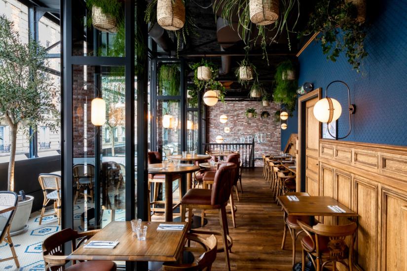 l 39 enseigne au bureau ouvre un pub brasserie dans le 15e. Black Bedroom Furniture Sets. Home Design Ideas