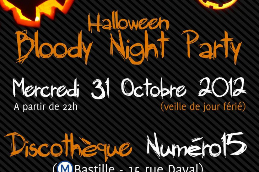 Halloween Bloody Night Party