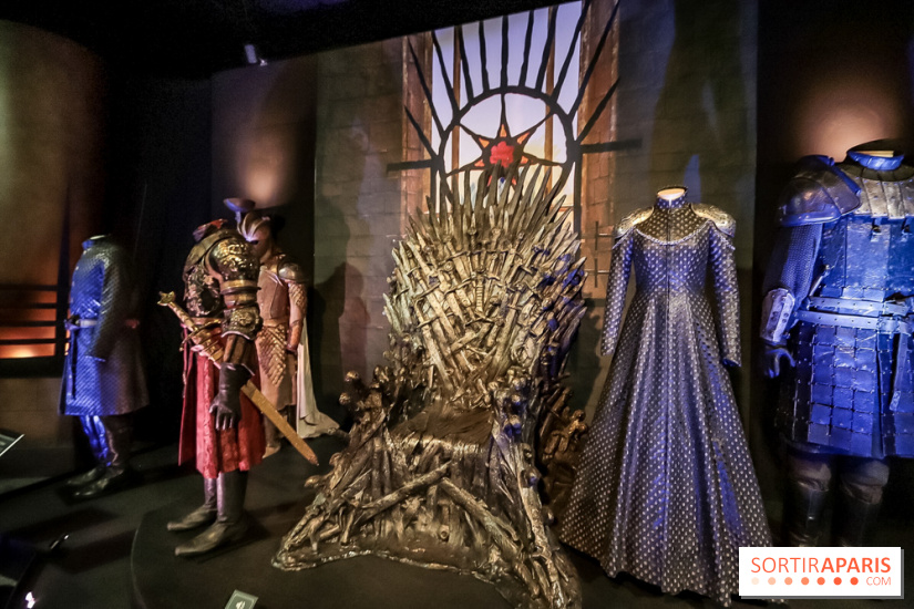 Game of Thrones, les photos de l'exposition 2018 trône