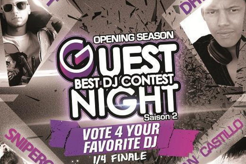 GUESTNIGHT BEST DJ CONTEST Opening Season