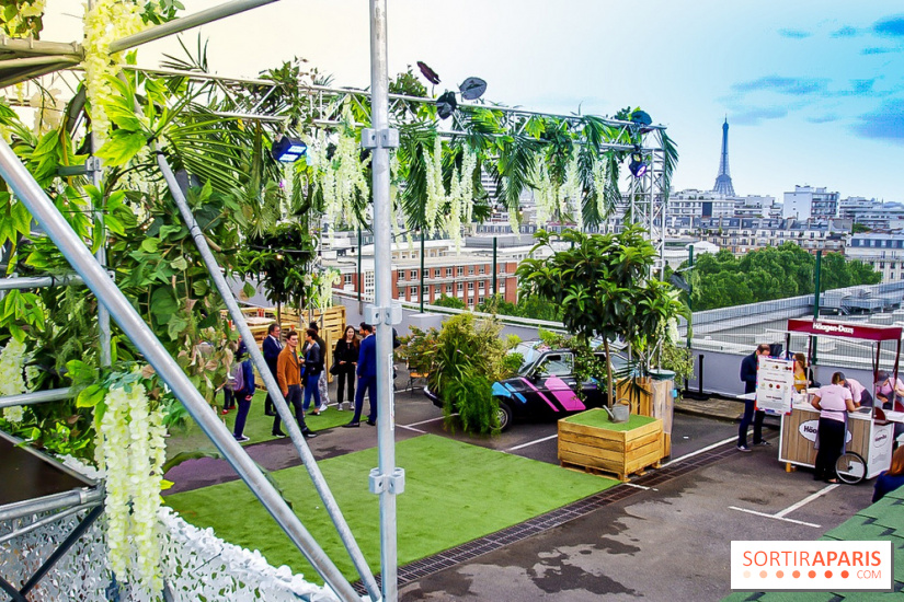 Jardin Suspendu Paris Rooftop