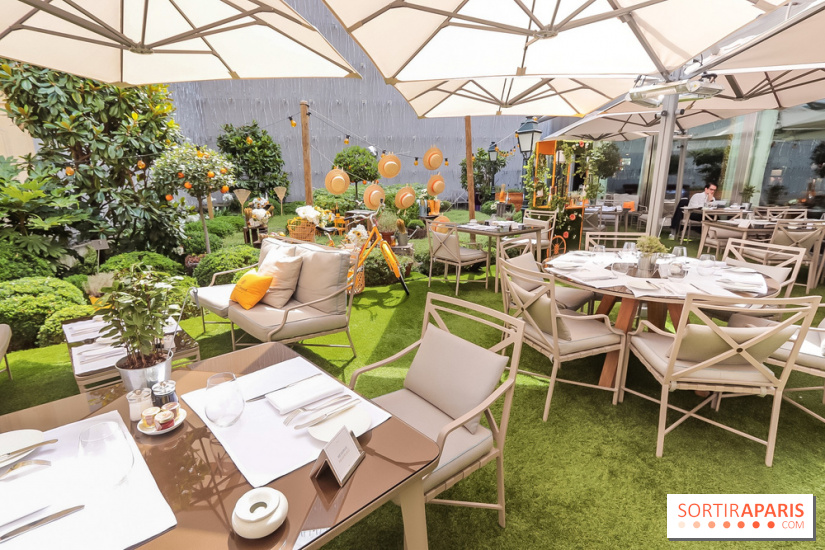 Le Jardin de Joy: Fouquet\'s Paris pop-up bucolic and luxuriant ...