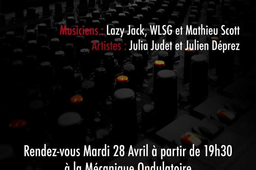 Concert, Paris, Mécanique Ondulatoire, Passage Thiéré, Rock on Air, Lazy Jack, WLSG, Mathieu Scott, Julia Judet