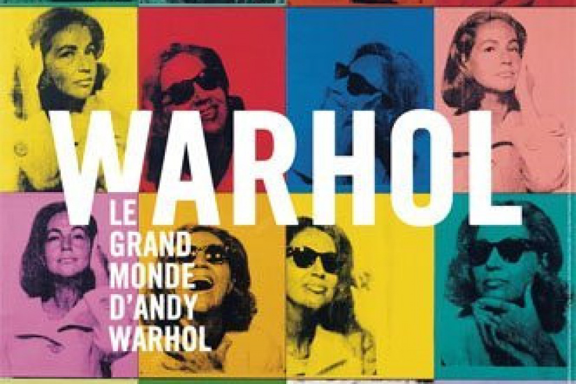 Andy Warhol, Portraits, Grand Palais