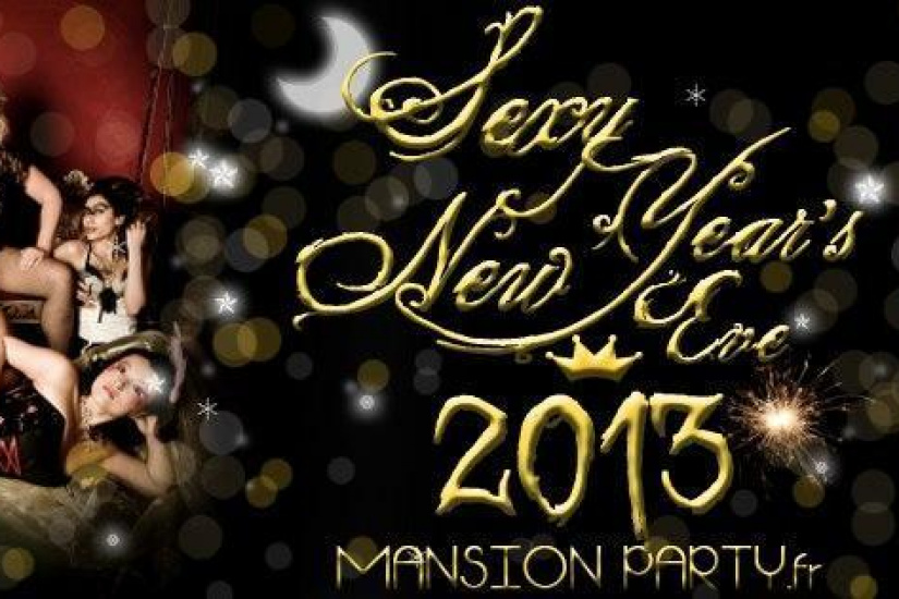 Mansion Party - New Year's Eve 2013 - Soirée Réveillon du Nouvel An à Paris