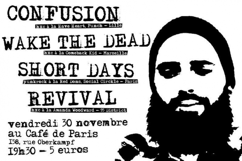 Confusion + Wake The Dead + Short Days + Revival