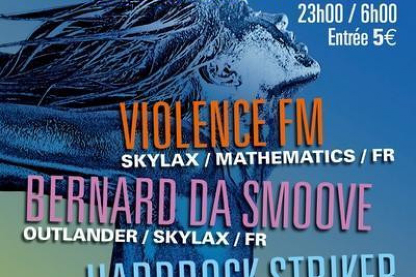 Skylax presents Violence FM RELEASE PARTY
