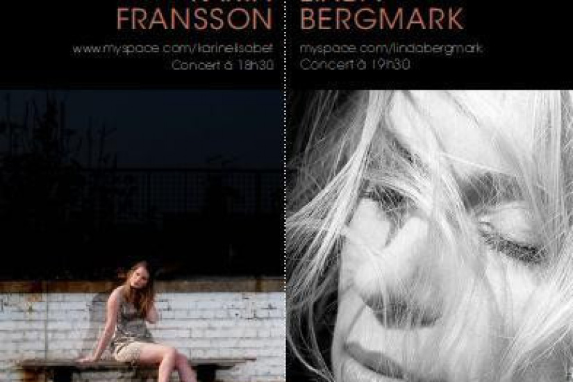 MUSIC FROM THE NORTH - CONCERT LINDA BERGMARK & KARIN FRANSSON