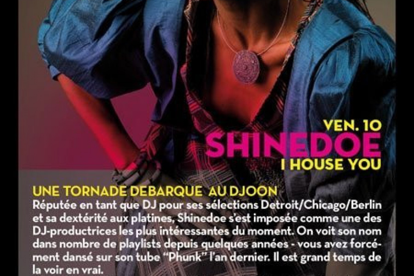 I house you, paris, soirée, djoon