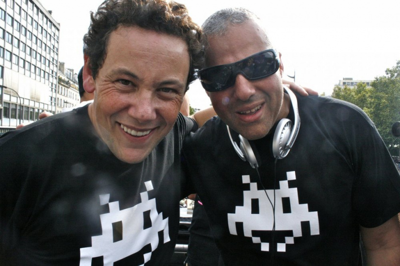 Joachim Garraud et Laurent Le PAPE