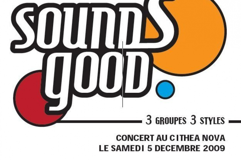 Sounds Good, Cithea Nova, Jazz in Chair, Natvel soul, Broken Candys, Concert, Paris