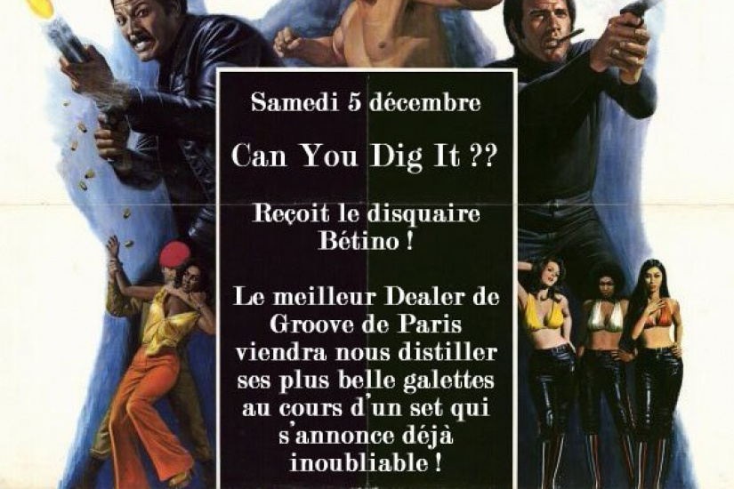 Can You Dig It , Betino, Disquaires, Paris, Soirée