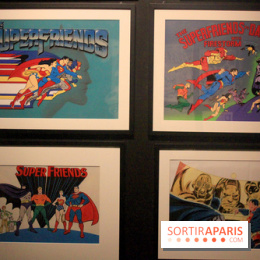 L'Art de DC Comics au Musée Art Ludique - Superfriends