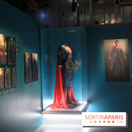 L'Art de DC Comics au Musée Art Ludique - costume de superman