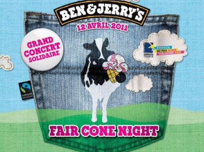 Fair Cone Night, Ben & Jerry's, Bellevilloise, Emmaus, Naïves New Beaters, DJ Pone