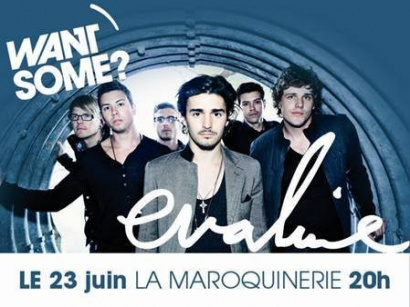 Want Some, Maroquinerie, Evaline, Concert.