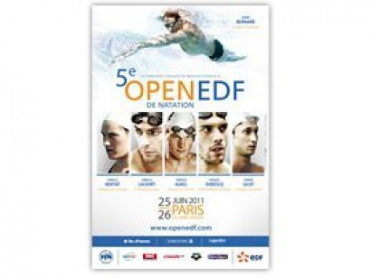 Open EDF de Natation, Paris 2011