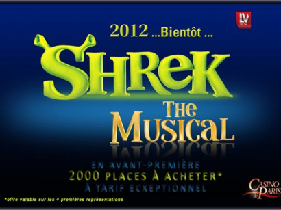 shrek le musical