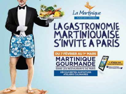 La gastonomie martiniquaise s'invite à Paris