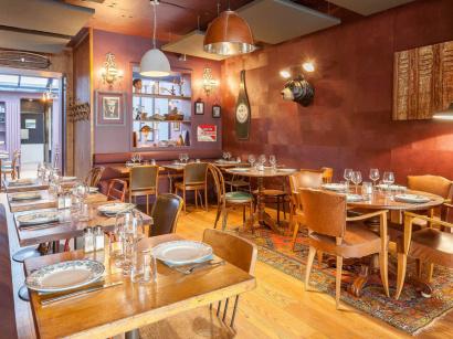 Le bistro paradis melting pot de cuisine fran aise et - Restaurant le congres paris porte maillot ...