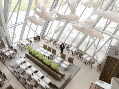 Le Frank, restaurant de Jean-Louis Nomicos à la Fondation Louis Vuitton
