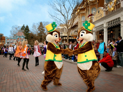 Saint Patrick 2014 Disneyland Paris