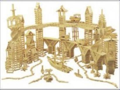 Exposition kapla l 39 h tel de ville animations gratuites pour les enfants for Construction en bois wiki