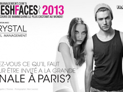 Fresh Faces 2013 : casting à Paris