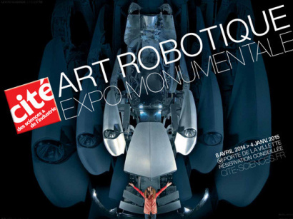 Art robotique à la Cité des Sciences