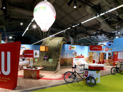 Danone au salon de l 39 agriculture 2016 for Salon agriculture paris 2015