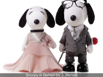 Snoopy et Belle in fashion 2015