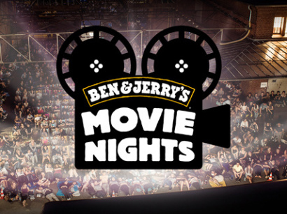 Movie Nights by Ben Jerry's à laPlage du Glazart