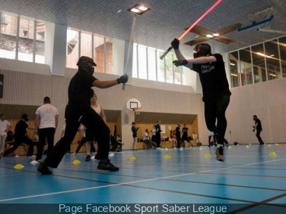 Hero Open de France - Sabre Laser, la compétition à la Bellevilloise