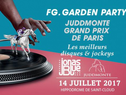 FG Garden Party le 14 juillet 2017 à l'hippodrome de Saint-Cloud