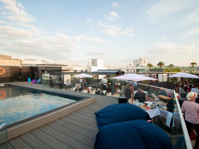 Seven Up, le rooftop incroyable du Mercure Paris Boulogne