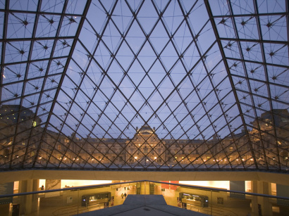 Musée Louvre Nuit | usée du Louvre © Paris Tourist Office - Photographe : Marc Bertrand - Architecte : Ieoh Ming Peï  Marc Bertrand