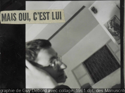 exposition Guy Debord BNF 2013