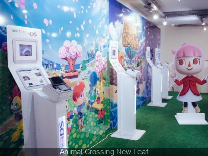 Exposition Animal Crossing : New Leaf à l'Imprimerie