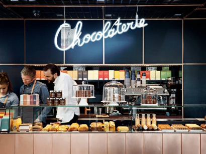 La Chocolaterie by Cyril Lignac et Benoit Couvrand à Paris