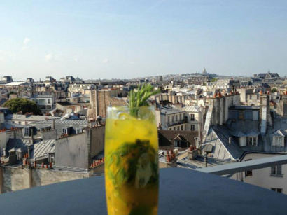 Le 43 Up On The Roof : terrasse sur le toit du Holiday Inn Paris Notre-Dame