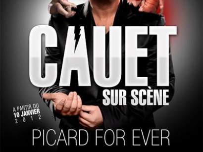cauet au palais des glaces, picard for ever