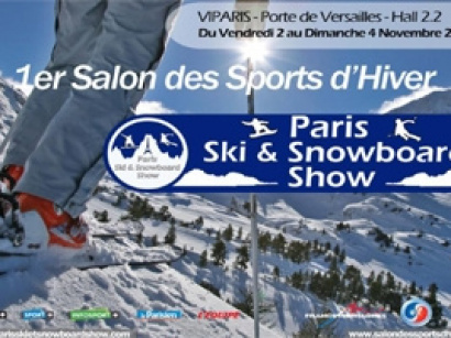 Paris Ski et Snowboard Show, le salon des Sports d'iver à Paris