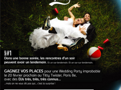 Wedding Party avec Unbottle Yourself : gagnez vos places !
