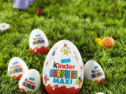 chasse aux oeufs kinder 2013